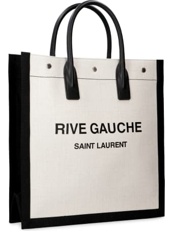 Saint Laurent Logo Detail Tote Bag