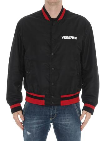 Versace Logo Medusa Bomber Jacket