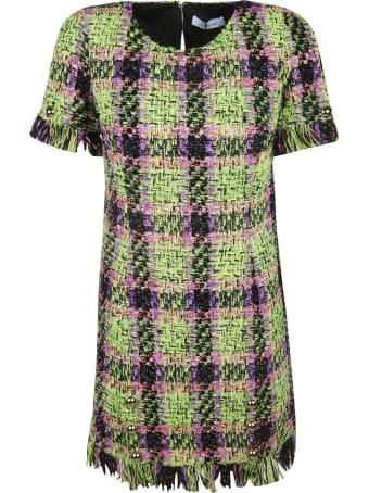 Blumarine Fringed Dress