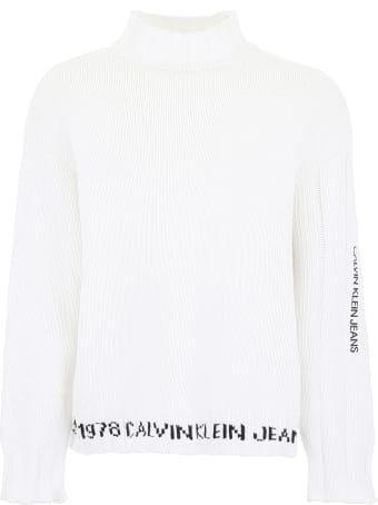 Calvin Klein Logo Pullover