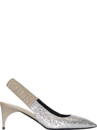 Alain Tondowski Pointed Sandals