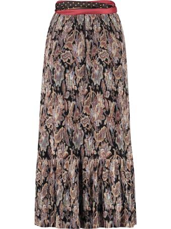 Zimmermann Ladybeetle Printed Pleated Skirt