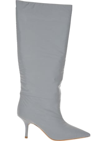 Yeezy Kanye West Yeezy Reflective Knee High Boots