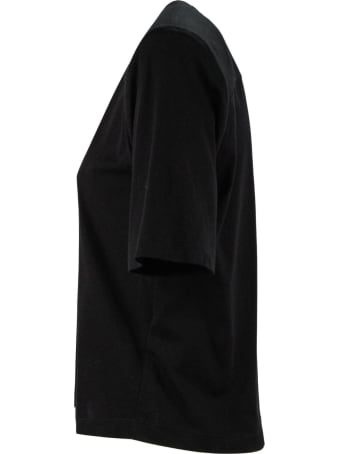 Federica Tosi Black Cotton T-shirt