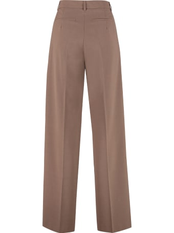 Nanushka Cleo Tailored Wide-leg Trousers