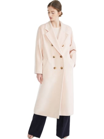 Max Mara Madame Doublebreasted Over Coat