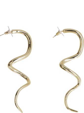 Cult Gaia Drea Brass Earrings