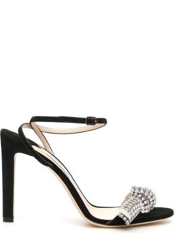 Jimmy Choo Thyra Crystal Sandals