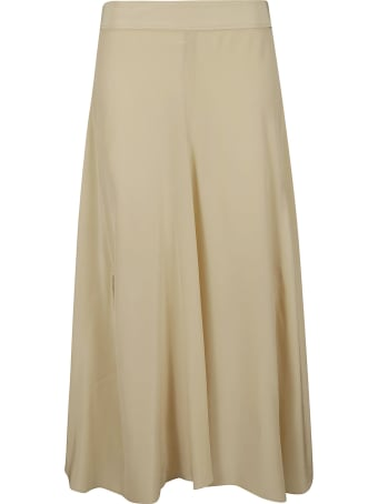 Acne Studios Rear Zip Flared Skirt