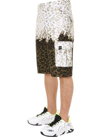 MSGM Leopard Trousers