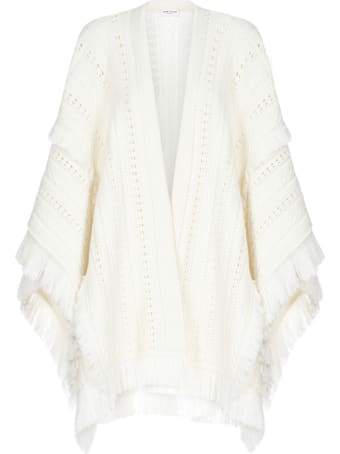 Saint Laurent Poncho Coat