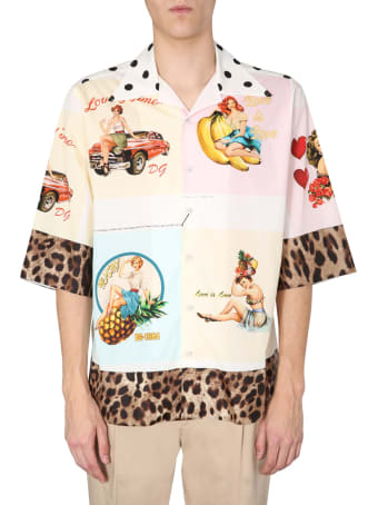Dolce & Gabbana Hawaii Shirt