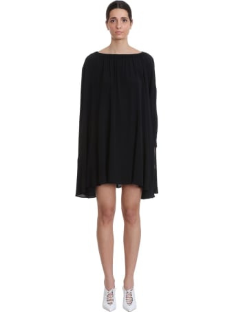 Mauro Grifoni Dress In Black Tech/synthetic