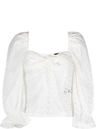Federica Tosi White Cotton Blouse