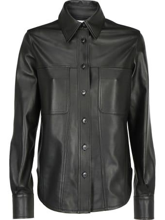 Calvin Klein Leather Shirt