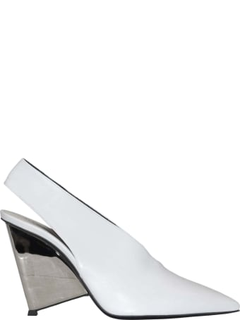 Alain Tondowski Pointed Slip-on Sandals