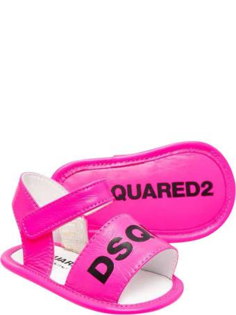 Dsquared2 Fuchsia Sandals