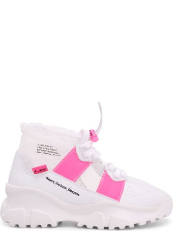 FW_D F_wd Leather Sneakers