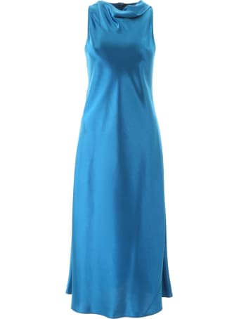 Sies Marjan Andy Glossy Satin Dress
