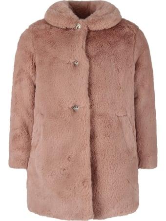 Bonpoint Pink Girl Faux Fur