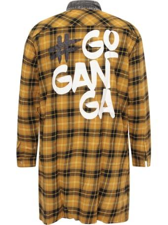 Goganga Yellow Dress For Girl With Check