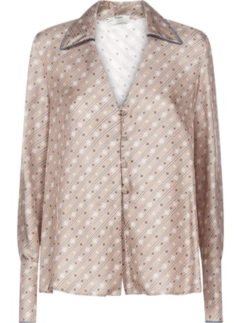 Fendi Long Sleeves With Button Shirt