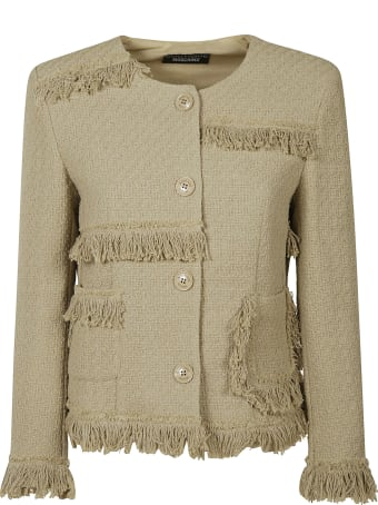 Moschino Fringed Detail Jacket