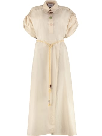 Nanushka Hanna Cotton-poplin Shirtdress