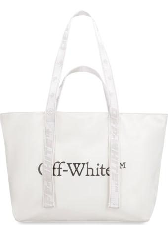 Off-White Nylon Tote Bag