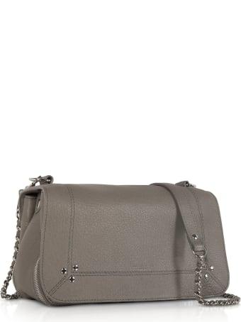 Jerome Dreyfuss Bobi Grey Leather Shoulder Bag