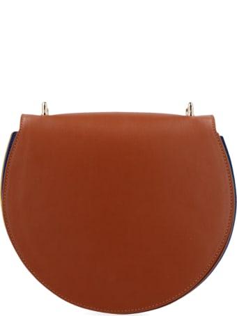 Sara Battaglia 'round Plissè' Bag