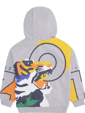 Kenzo Kids Printed Cotton Sweatshirt