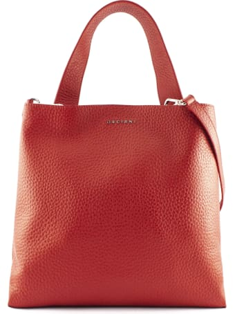 Orciani Red Jackie Shoulder Bag