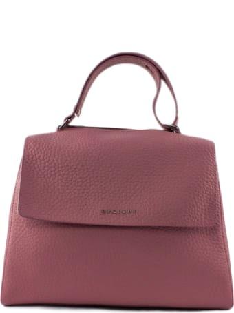 Orciani Pink Leather Sveva Bag