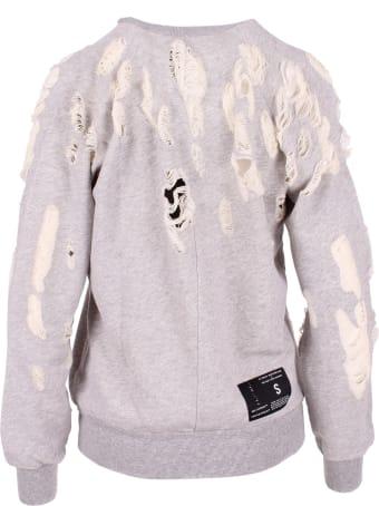 Ben Taverniti Unravel Project Unravel Project Cotton Sweatshirt