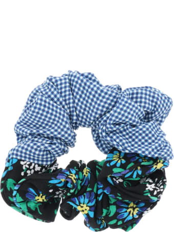 RIXO Jasper Garden Party Print Scrunchie