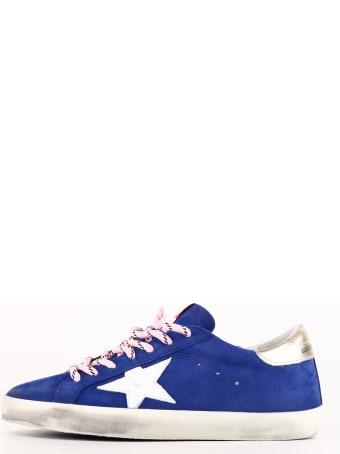 Golden Goose Super-star Sneakers Blue
