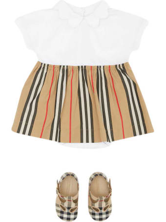 Burberry Striped Dress