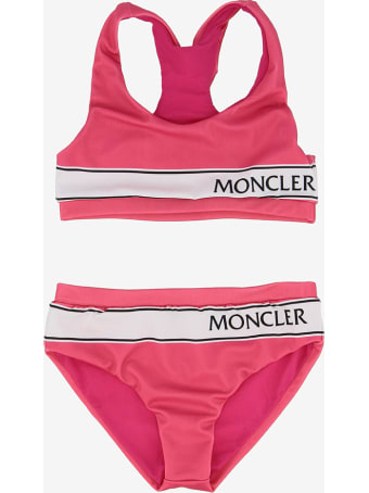 Moncler Two Pieces Logo Band Bikini