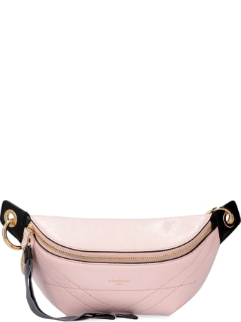 Givenchy Id Leather Belt Bag With Logo