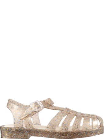 Melissa Beige Sandals For Girl
