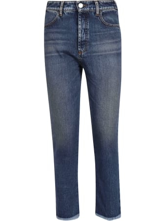 SportMax Max Mara Frayed Jeans