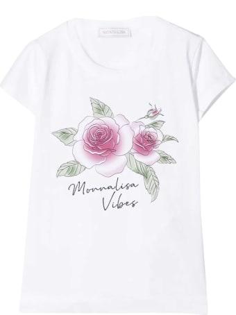 Monnalisa White T-shirt