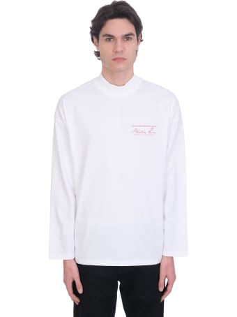 Martine Rose T-shirt In White Cotton
