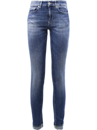 Dondup Blue Denim Jeans