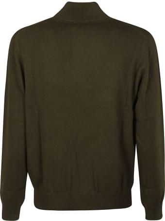 Salvatore Ferragamo Zip Placket Pullover
