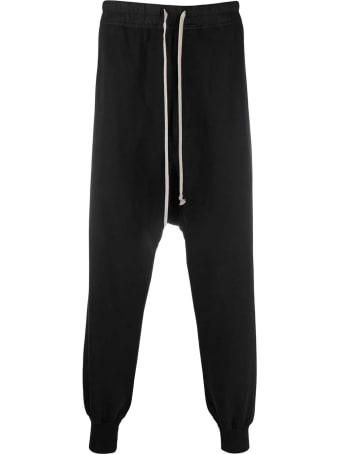 DRKSHDW Black Cotton Trousers