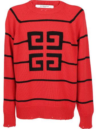 Givenchy Jacquard Logo Sweater