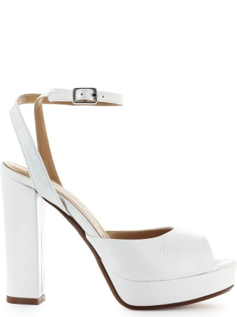 Fiori Francesi White Platform Sandal