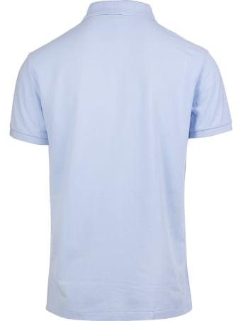 Ralph Lauren Light Blue Embroidered Logo Polo Shirt